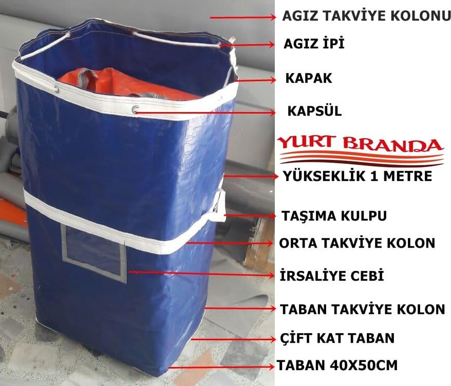 Çamaşır Taşıma Torbası